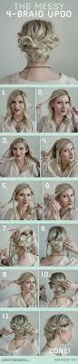 15 Fresh Updos For Medium Length Hair Popular Haircuts