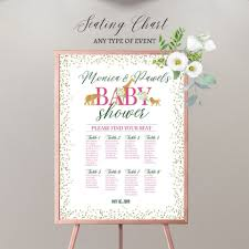 Table Seating Chart Baby Shower 026 Baby Shower Guest List Template Top Ideas Gift Free Wish