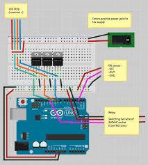 sunrise alarm circuit