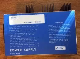 edwards est irc irc3 ps4a rm power supply fire alarm fast ebay est irc 3 wiring at Irc Est Fire Alarm Wiring Diagram
