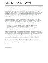 Cover Letter For Web Developer Cover Letter Web Developer Cover ...
