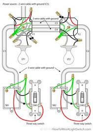 7 pin trailer plug wiring diagram diagram plugs two lights between 3 way switches the power feed via one of the lights electrical