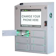 Vending Machine That Buys Cell Phones Custom Secure Cell Phone Charging Stations Lockers SafeCharge