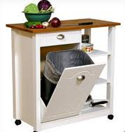 small kitchen island on wheels. Plain Kitchen Small Kitchen Island With Wood Top Closed Garbage Container Unit And Open  Shelving On Wheels By Venture Horizon And On L