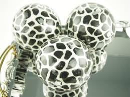 Leopard Decorative Balls 100 Capiz Large Decorative Balls Orbs Spheres African Safari 59