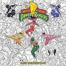 Mighty Morphin Power Rangers Adult Coloring Book Hendry Prasetya