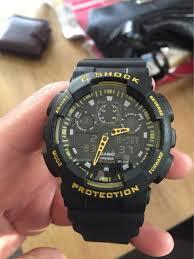 černo žluté Hodinky Casio G Shock