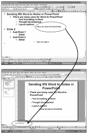 Ms Word Powerpoint Bill Dilworth Word Outline To Notes Pane In Powerpoint