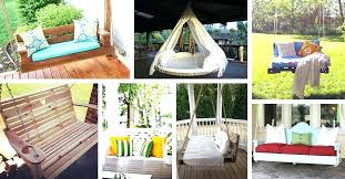 outdoor swing bed porch swing bed outdoor swing bed mattress cover outdoor hanging bed diy