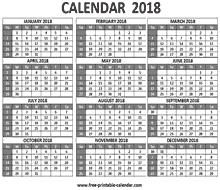 2018 calendar printable free 2018 calendar printable free printable calendar com