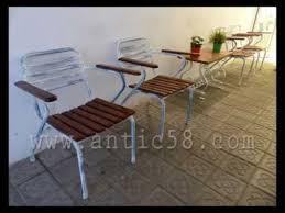 Restauración sillas metálicas