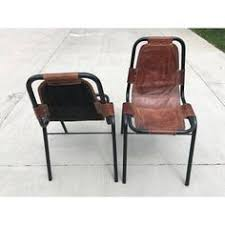 charlotte perriand for les arcs chairs a pair