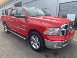 PRE-OWNED 2017 RAM 1500 LONE STAR SILVER FOUR WHEEL DRIVE CREW CAB