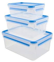 EMSA <b>Набор из 3 контейнеров</b> CLIP & CLOSE 508567