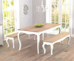 shabby chic dining room furniture. Shabby Chic Dining Room Table And Benches  Chandeliers Furniture