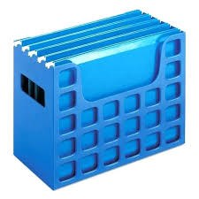 Plastic Magazine Holders Staples Mesmerizing File Folder Rack Hanging Folder Blue File Folder Holder File Folder