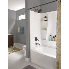 a custom liner designed to fit your tub or shower can be quickly installed right over your old