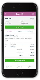 Collect amp; On Quotes Invoices Update Signatures Mobile Jobber