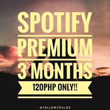 spotify premium 3 months tickets vouchers gift cards vouchers on carousell
