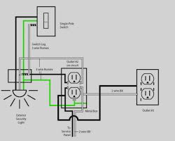 Wiring Outlets And Lights On Same Circuit House Wiring Circuits Diagram Wiring Diagram Rows
