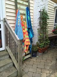 best 25 outdoor towel racks ideas on pvc towel drying pool within outdoor towel rack