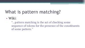 What Is Pattern Simple Beauty Of Pattern Matching