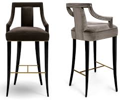 EANDA | BAR & COUNTER CHAIR - Contemporary Traditional Transitional  Mid-Century / Modern Barstools & Counter Stools - Dering Hall
