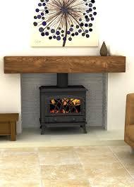 image result for wood burner arch lintel fireplace