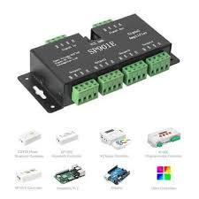 <b>SP901E Signal Amplifier</b> For WS2812B RGB LED Strip Dream Color ...