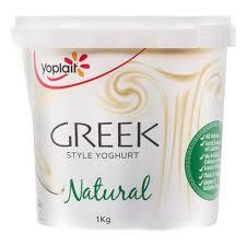 yoplait yoghurt tub greek style natural 1kg at countdown co nz