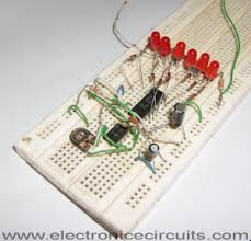 4017 led knight rider circuit diagram electronic circuits led knight rider circuit using 4017 and 555 ic s