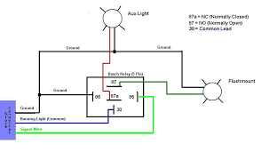 12 volt relay wiring diagram how to wire electric fan wiring Lighting Relay Wiring Diagram 5 pin relay wiring diagram better off since the flushie auxiliary light have different voltages running lighting relay panel wiring diagram