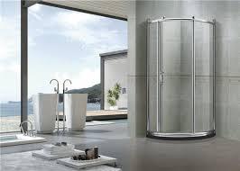 brushed all arc quadrant shower enclosures tempered glass shower enclosure kit