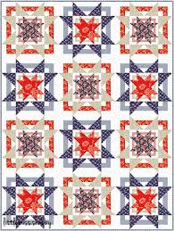 Quilt Inspiration: Free pattern day: Patriotic and flag quilts & Stars and Stripes quilt, 50 x 62