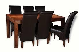 dakota 160cm dining table 6 rollback chairs