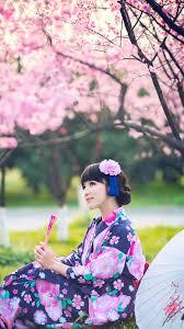 Japanese Girl With Kimono (#514704 ...