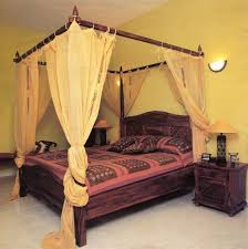 Bedroom Bed Canopy Curtain Rail Bed Canopy Double Bed Bed Canopy For ...