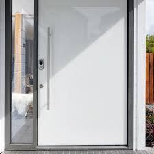 white front door stellar entrance doors