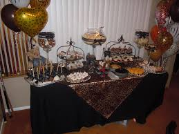 Leopard Print Party Decorations Jackies Party Creations Animal Print Themed Party Setup