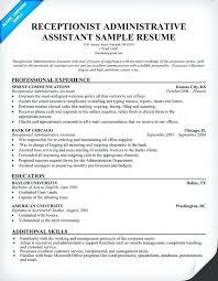 Secretary Job Description For Resume Secretary Resume Skills Legal