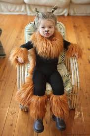 easy lion costume black leotard and leggings with fur added