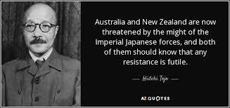 Greatest three eminent quotes by hideki tojo pic Hindi via Relatably.com