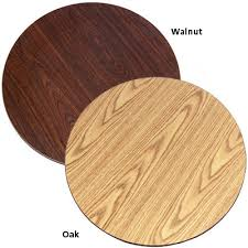 double sided oak walnut laminate