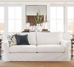 grand furniture slipcovers pottery barn cozy pb comfort roll arm slipcovered sleeper sofa with memory foam