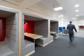 office pods. 11200 Railway Carriage Meeting Pods, Office Pension Corporation Pods 2