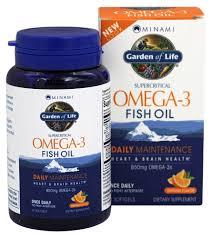 garden of life minami supercritical omega 3 fish oil orange flavor 850 mg 60 softgels formerly morepa at luckyvitamin com