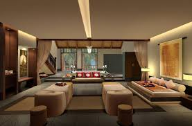 Interior:Korean Bedroom Interior Design With Wall Art Decoration Ideas Contemporary  Japanese Living Room Interior
