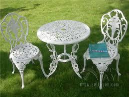 white metal outdoor furniture. gorgeous white metal outdoor furniture patio chairs i