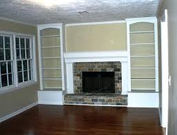 built in shelves around fireplace built in shelves around brick fireplace built in shelves around fireplace cost