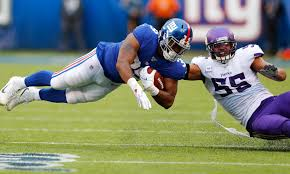 Eli Penny Next Man Up At Rb For New York Giants Vs Patriots
